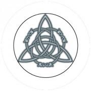 Badge 25mm Symbole celte 3