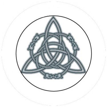 BADGESAGOGO.FR - Badge 25mm Symbole celte 3