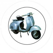 Badge 25mm Vespa