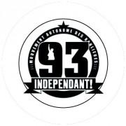 Badge 25mm 93 Indépendant