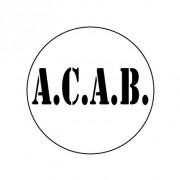 Badge 25mm ACAB