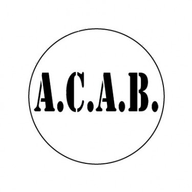 BADGESAGOGO.FR - Badge 25mm ACAB