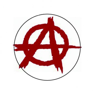 BADGESAGOGO.FR - Badge 25mm Anarchie
