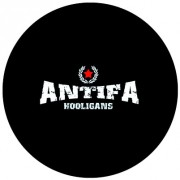 Badge 25mm Antifa hooligans