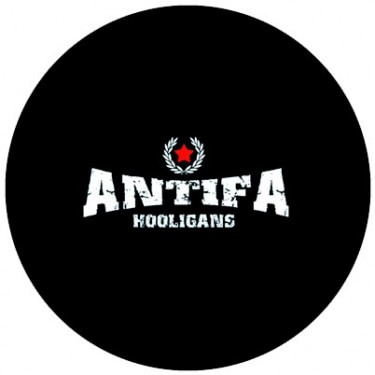 BADGESAGOGO.FR - Badge 25mm Antifa hooligans