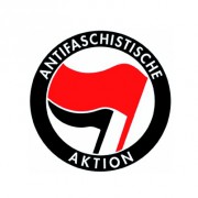 Badge 25mm Antifaschistische aktion