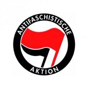 Badge 25mm Antifaschistische aktion