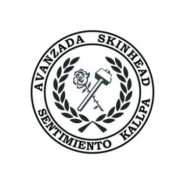 BADGESAGOGO.FR - Badge 25mm Avanzada skinhead