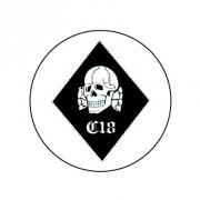 Badge 25mm Combat 18