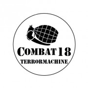 Badge 25mm Combat 18 grenade