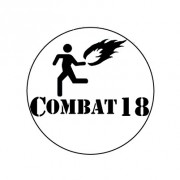 Badge 25mm Combat 18 molotov