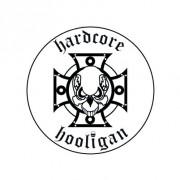 Badge 25mm Hardcore hooligan