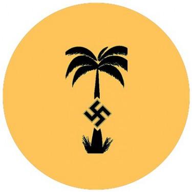 BADGESAGOGO.FR - Badge 25mm Logo afrikakorps