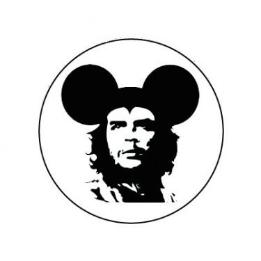 BADGESAGOGO.FR - Badge 25mm Mickey Guevarra