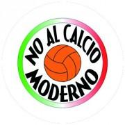 Badge 25mm No al calcio moderno