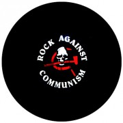 Badge 25mm Rock against communism