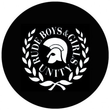 BADGESAGOGO.FR - Badge 25mm Rude boys and girls