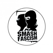 Badge 25mm Smash facism