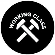 Badge 25mm Working class