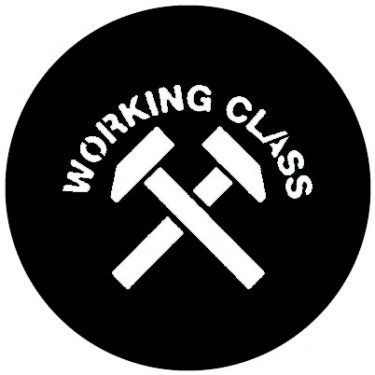 BADGESAGOGO.FR - Badge 25mm Working class