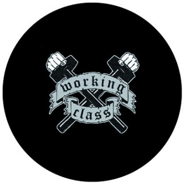 BADGESAGOGO.FR - Badge 25mm Working class marteaux