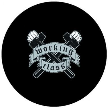 BADGESAGOGO.FR - Badge 25mm Working class marteaux