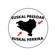 Badge 25mm Euskal Presoak Euskal Herrira