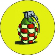 BADGESAGOGO.FR - Badge 25mm Grenade