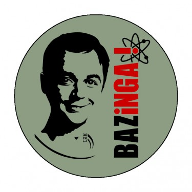 Badge Bazinga