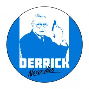 Badge Derrick 38 mm