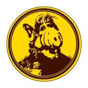 Badge Alf 38 mm