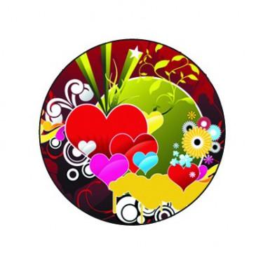 Badge 25mm artistique
