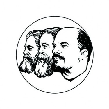 Badge 25mm Communistes