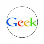 Badge 25mm Geek
