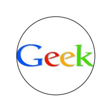 Badge 25mm Geek