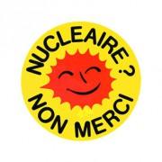 Badge 25mm Nucléaire non merci
