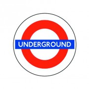 Badge 25mm UNDERGROUND