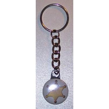 Porte-clés Etoile de sheriff