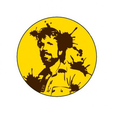 Badge Chuck Norris 25 mm