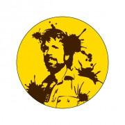 Badge Chuck Norris 38 mm