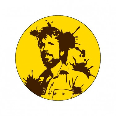 Badge Chuck Norris 38 mm