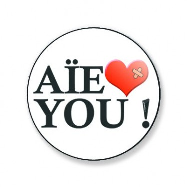 Magnet aie love you 25 mm