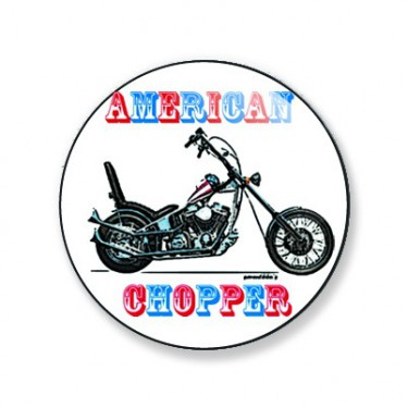 Badge american chopper 25 mm
