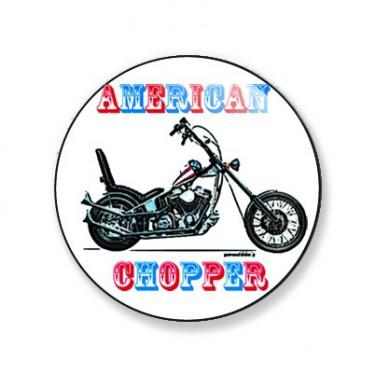 Badge american chopper 38 mm