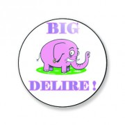 Badge big délire 25 mm