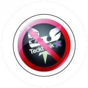 Badge 25mm Anti tecktonik