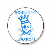 Badge bouffons du roi 59 mm