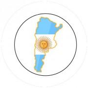 Badge 25mm ARGENTINE