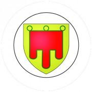 Badge 25mm AUVERGNE