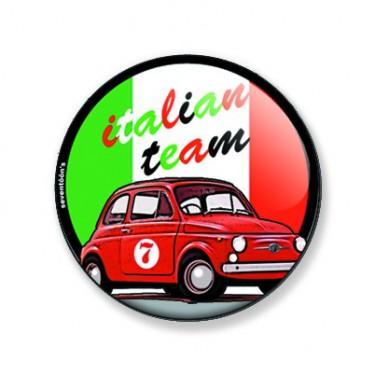 Badge italian team 38 mm